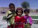 ایستاده از راست زهرا غریبی ،مهدیه اتابکی و فائزه غریبی