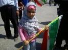کوچولوی میلاجرد در راهپیمایی روز قدس