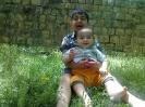 مهدی کوچولو و داداشش آقا متین احمدی