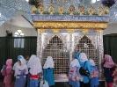 کوچولوهای میلاجرد در حال زیارت امامزاده یحیی (ع)