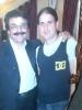مرحوم حسن اسدی در کنار علیرضا افتخاری