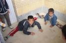 بچه های مدرسه امام سجاد(ع) در حال زدن 180 درجه