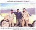 شهید پرویز آقامحمدی ایستاده از راست