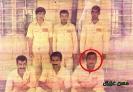 شهید حسن عزیزی (حمزه) در اردوگاه تکریب عراق