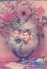 سمت راست شهید احمد سلیمانی سمت چپ آزاده علی اتابکی