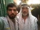 آقای حق نظری و آقای علی غلامحسینی در کربلا اربعین 97