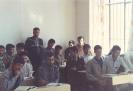 سال 1375 کلاس سوم تجربی مدرسه قمربنی هاشم کمیجان آخرین دوره نظام قدیم