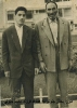 مرحوم میرزا یحیی جلولی همراه فرزندش محمد جلولی