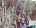 ازراست حاج اکبرسلیمانی ،عباس ملکی ومحمدسلیمانی اوایل انقلاب