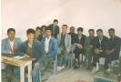 تصویردانش آموزان سال چهارم دبیرستان شهید غربیی میلاجرد درسال 1370