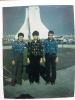 از راست به ترتیب محمدرضاملکی،مرحوم حسین میرحسینی ومحمدملکی ۱۳۵۴سال