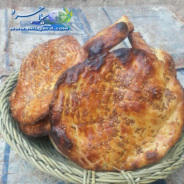 نان های سنتی میلاجرد - فتیر