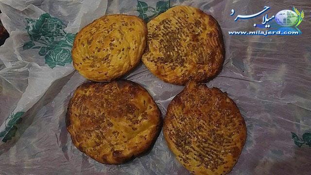 نان های سنتی میلاجرد - فطیر