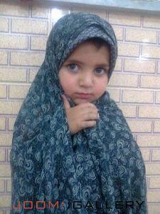 عسل کوچولو دختر خوشگل و ناز رسول