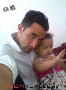 مهرداد و دخترش نازنین