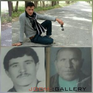 عکس مرحومین حاج عزیز،محمدرضا و پرویز غلامحسینی