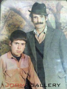 مرحوم محمد اتابکی و پسرش اکبر