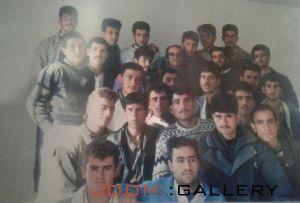 دانش آموزان کلاس چهارم دبیرستان سال 1373 مدرسه شهید حیدر غریبی میلاجرد