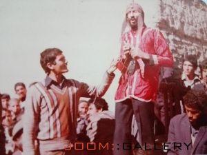 مرحوم محمد سلیمانی در نقش شمر (محمد شمر)